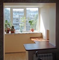 Соединение балкона или лоджии с комнатой